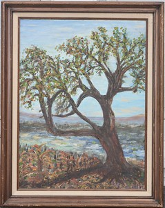 03 Lonely Tree - With Frame - 18 X 24