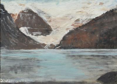 Lake Louise - Banff 12 X 16