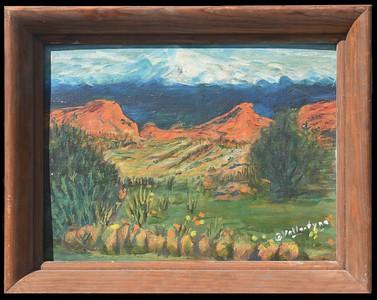 11 Garden of Gods - Colorado with Frame 12 X 16