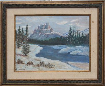 01 Southwest Winter - with Frame - 18 X 24