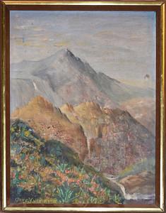 004 Swiss Matterhorn -   with frame - August 1966