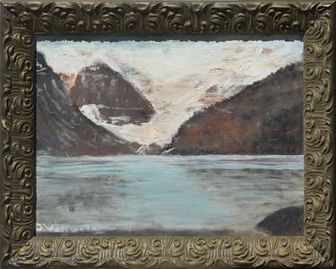 Lake Louise - Banff  with Frame - 12 X 16