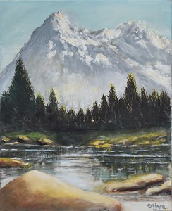 06 Snowcap Mountain - 16 X 20