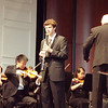 McLean HS senior Robert Bogart plays clarinet solo in the Concertina for Clarinet and Orchestra by Carl Maria Friedrich Ernst von Weber