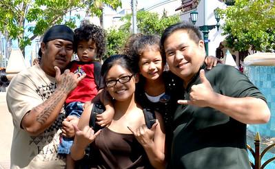 Cody's Family Visits DCA - 5/7/13