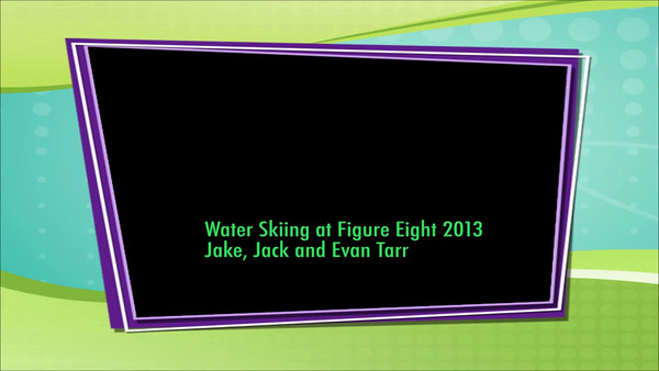 Water skiing f8 2013