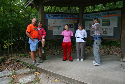 On Sunday, Al, Katie, Fran, Stephanie, Rena and I spent the day hiking some trails at Mastodon State Park in Missouri.