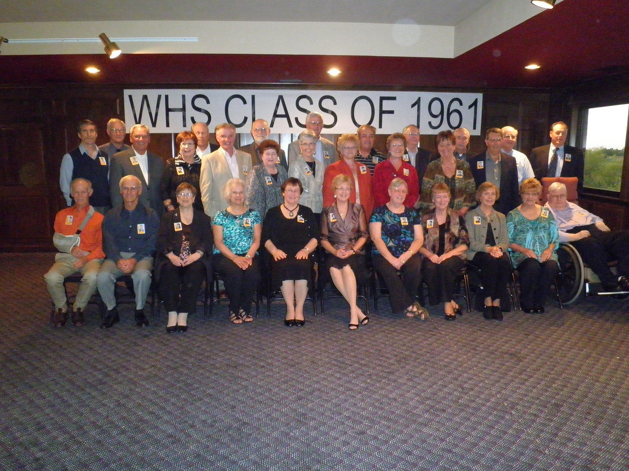 I attended my 50th Waterloo High School reunion on Friday night. Our graduating class had 62 members. 31 of the surviving 52 classmates were at the reunion which is a good turnout. This was only the second reunion I had attended. It was hard to recognize some people who I had not seen for 50 years.