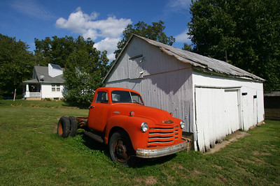 As I photographed this old truck, the owner offered to sell it to me.