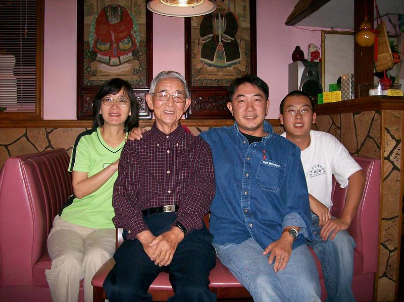 L-R:  Lee, Peter, Joel, and Wayne