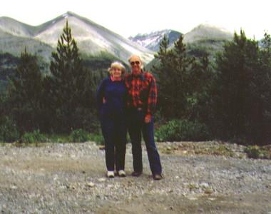 Bonnie & Wayne,Muncho Lake, British Columbia, July 1988  - Copy