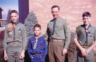 Dave, Dan, Wayne & Mike, Scout Sunday,   - Copy