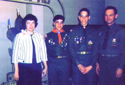 Bonnie, Mike, Dave & Wayne, Eagle Sccout Awards,    3-16-2006 8-22-34 PM 1140x776 - Copy