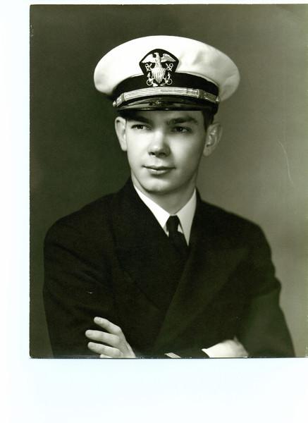Ens. W.J. Eldredge 1943
