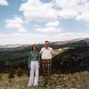 Bonnie & Grandpa Bob<br /> Colorado<br /> 1979