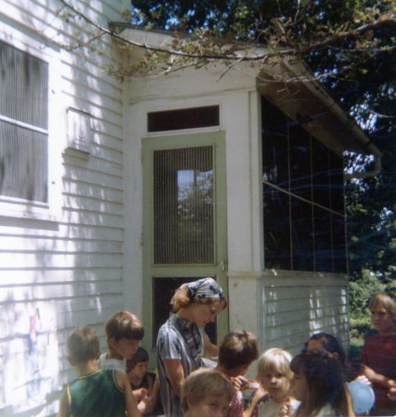Seth's seventh birthday party<br /> 7/7/77