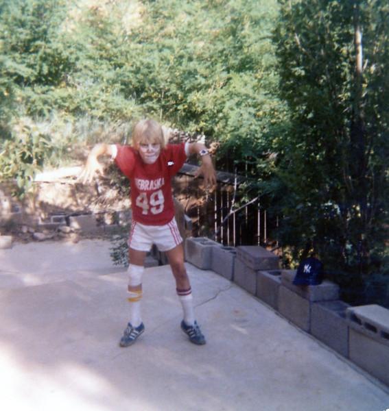 Seth on trip to visit Aunt Julie in Colorado Springs<br /> 1979