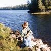 Bonnie and her weird bear friend<br /> Minnesota<br /> 1979