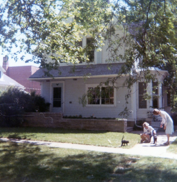 We moved to 209 Lincoln, Wayne, Nebraska, in late Feb of 1977.
