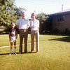 Bonnie & Seth with Grandpa Bob<br /> Denver, Colorado<br /> 1979