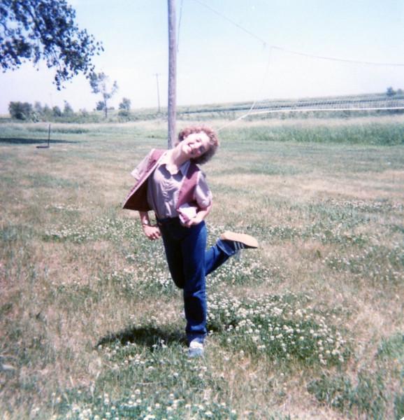Chris' friend Jerri Langsdon at church camp