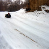 Sayre sledding<br /> Christmas 1981