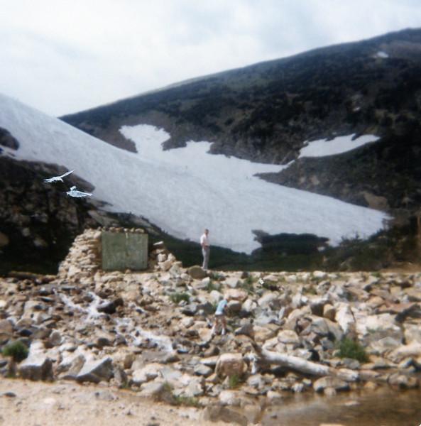 Grandpa Bob<br /> St. Mary's Glacier, Colorado<br /> 1977