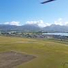 Take-off towards Honolulu harbour and Waikiki.....