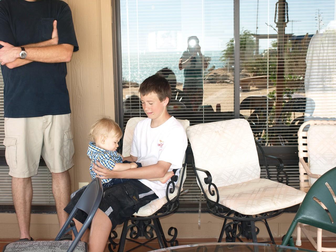 Cody makes friends wih Kalvin.