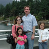 The Rudy family would come up to Beautiful BC and spend part of their summer at Grandma's cottage on Bowen Island. <br /> Stacy, Colie, Mark and Rachel Rudy.<br /> The cottage has now been sold.