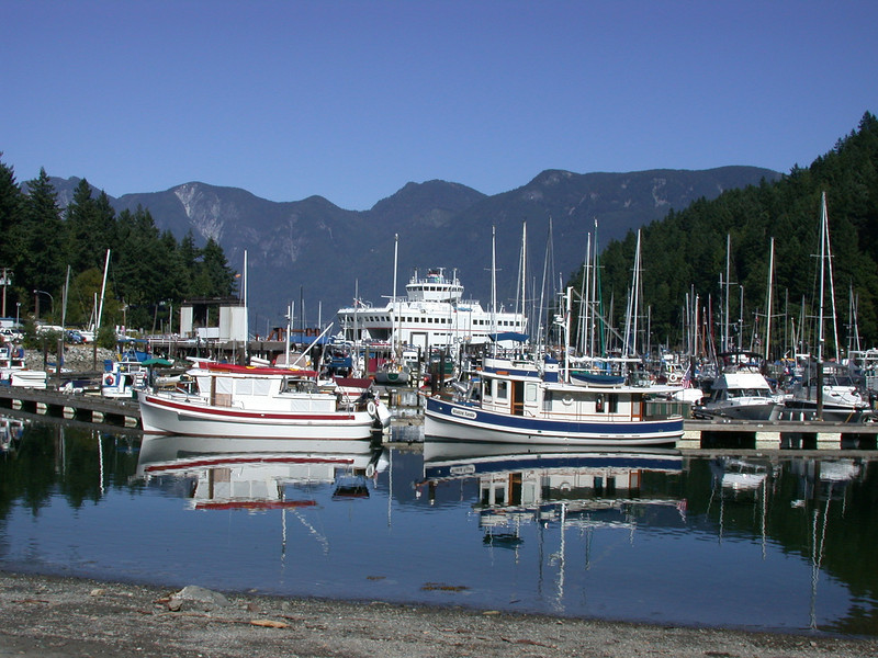 Snug Cove and the Queen of Capilano