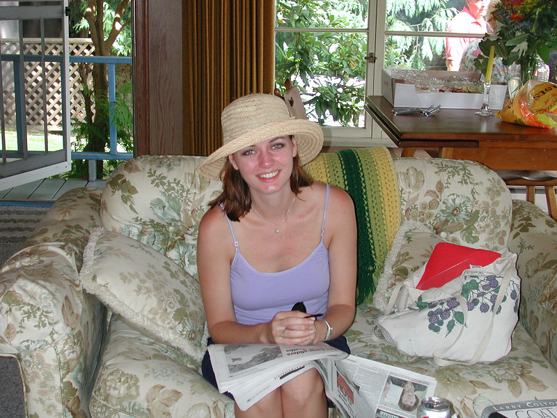 Teenies place on Bowen Island has a special place in Jenny's heart. <br /> It is her retreat home away from home.