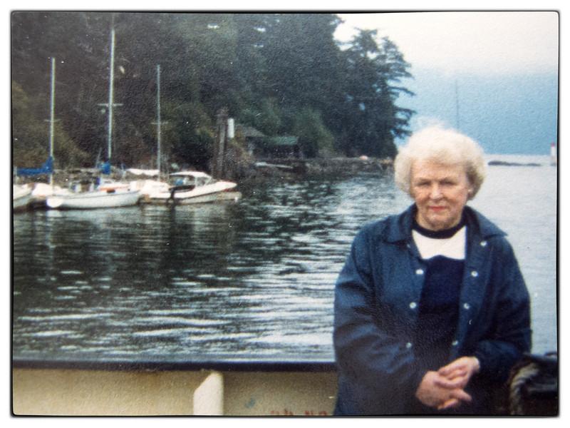 Eileen on the Bowen Ferry