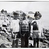 Eileen caught a Lin Cod in the tidal pools on the Point.<br /> Martha, Ian, Eileen