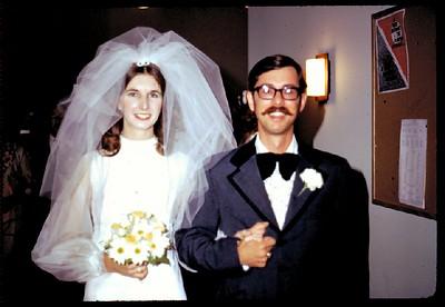 Wedding August 19, 1972