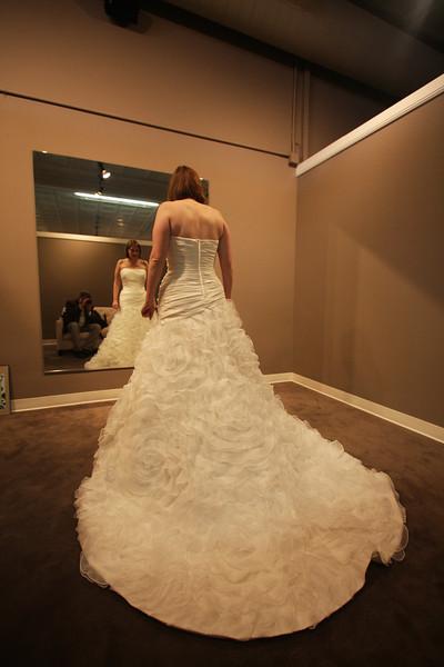 Wedding Dress Pick Up - January '12
