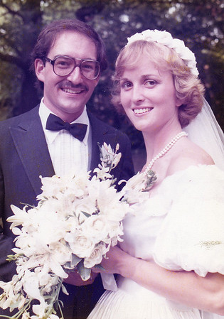 Wedding  - Mitch & Ginny 1982