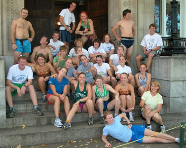 The Dartmouth ski team in all its glory fall 2004.