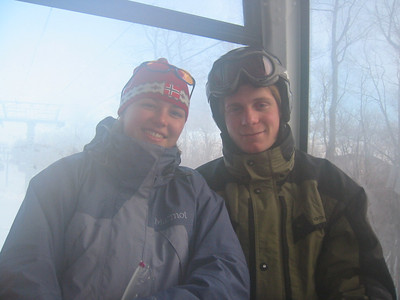Jean and Joe skiing Killington 2002.