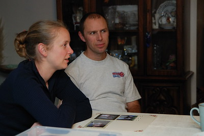 Lenora and her husband, Eric.