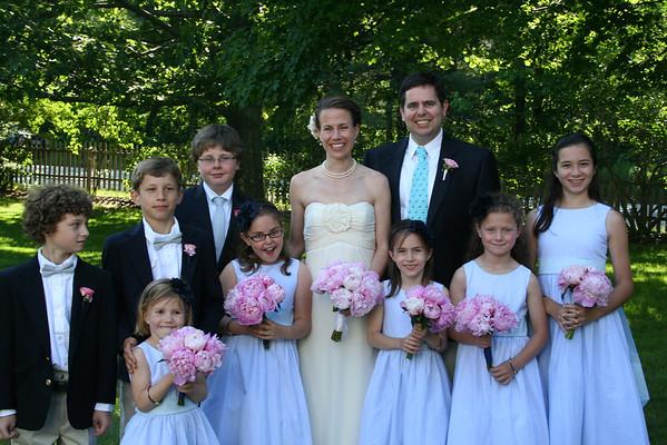 B and P's Wedding Reception