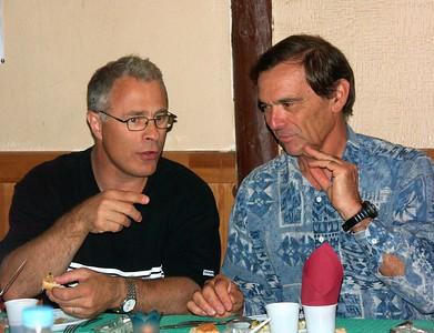 Eric & Gerard (photo prise par Roland)