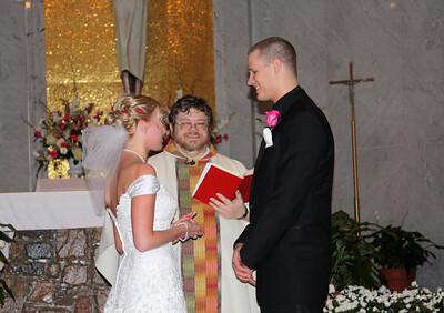 Morgan & Matt are married