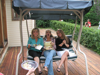 What are you eating? More Turley's: Aunt Diane, Cousins Amy and Kelsey