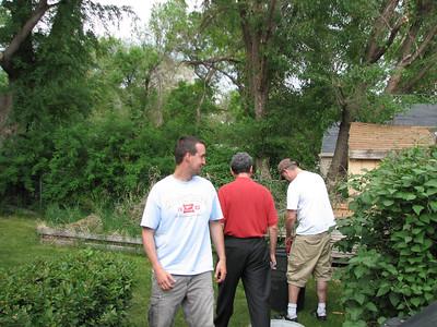 Bryan's cousin Pat, Uncle Jim and Bryan