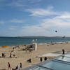 View from Branksome Beach restaurant