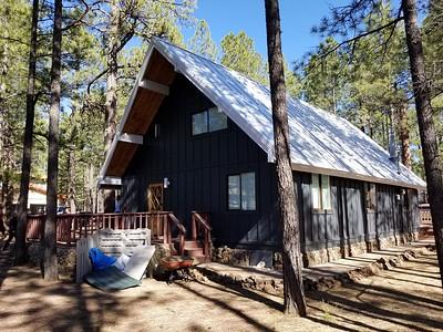 The groom's cabin