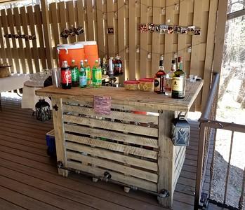 The bar Rich built