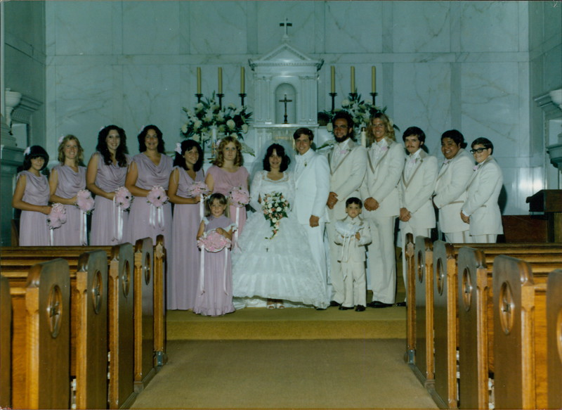Rob and JoAnn's Wedding Party
