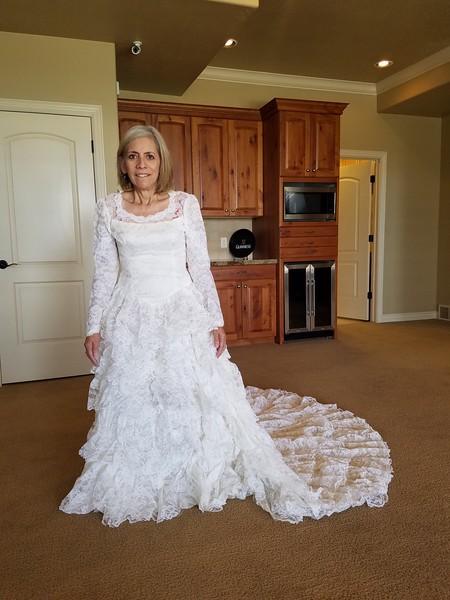 JoAnn's Wedding Dress 2018